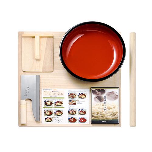 【送料無料】角利産業 KAKURI そば打ち入門セット DVD付 SB-150S 4542【smtb-u】