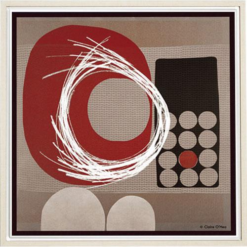 【送料無料】オリジン アートポスター クレア オヘア ハイパーグレー05 HS-7087【smtb-u】