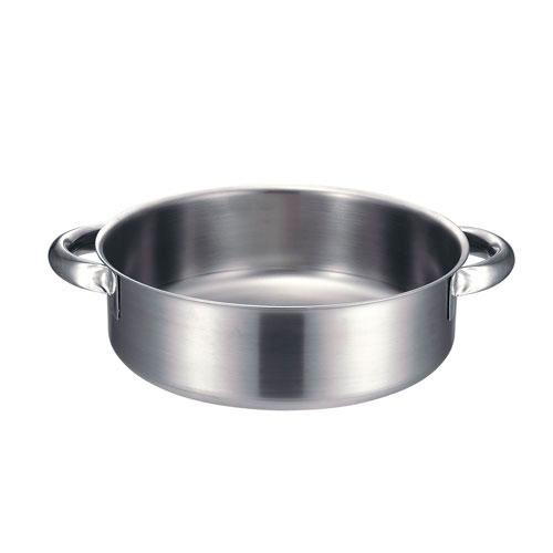 【送料無料】本間製作所 KO 19-0電磁対応外輪鍋 蓋無 45cm ASTN708