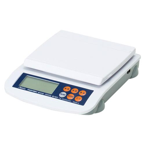【送料無料】アスカ Asmix 料金表示レタースケール 3kg DS3010【smtb-u】