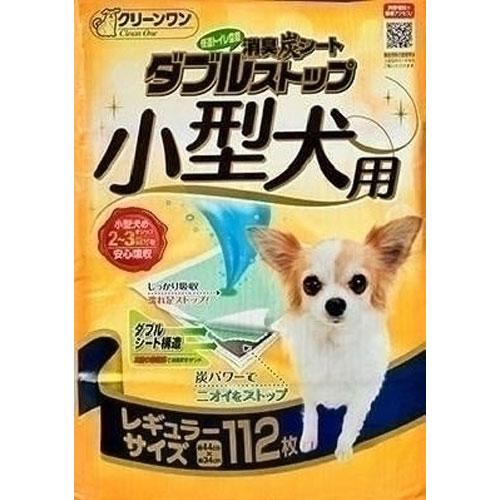 シーズイシハラ ダブルストップ 小型犬用 レギュラー 112枚入