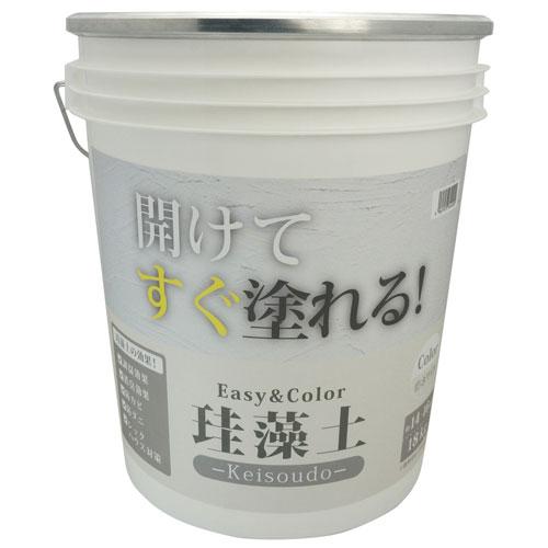 【送料無料】ワンウィル Easy&Color珪藻土 18kg ホワイト