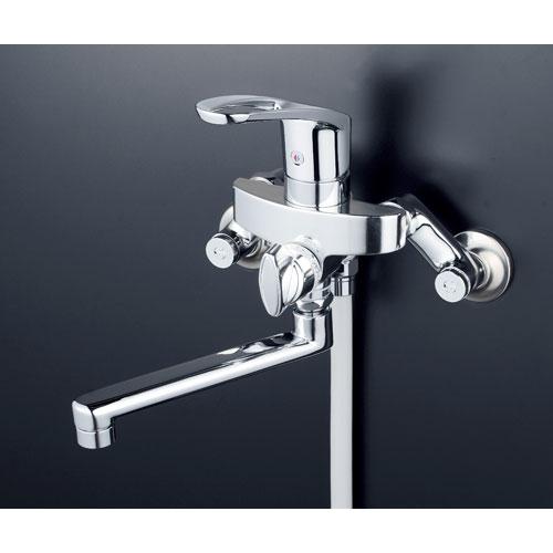 【激安大特価!】 シングルシャワー KF5000WT 2300470:mono 寒 【送料無料】KVK-木材・建築資材・設備