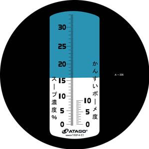 【送料無料】アタゴ 濃度計 MASTER-ラーメン M 手持ち屈折計 5000800【smtb-u】