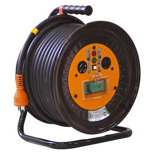 【送料無料】日動工業 三相200V一般型ドラム 30m ND-EB330F-20A