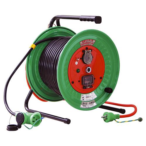【送料無料】日動工業 延長コード型ドラム びっくリール 防雨防塵型 30m RBW-EK30S