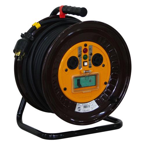 【送料無料】日動工業 三相200Vロック(引掛)式ドラム 30m ND-EB330L-20A