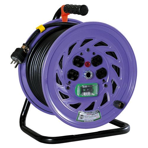 【送料無料】日動工業 単相200V一般型ドラム 30m NF-EB230-15A
