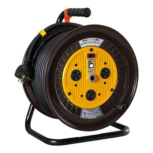 【送料無料】日動工業 単相200Vロック(引掛け)式ドラム 30m ND-E230L-20A