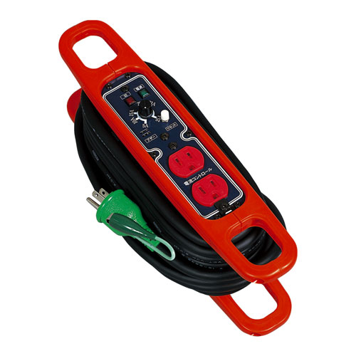 【送料無料】日動工業 電流コントロールハンドリール10m HRC-E102
