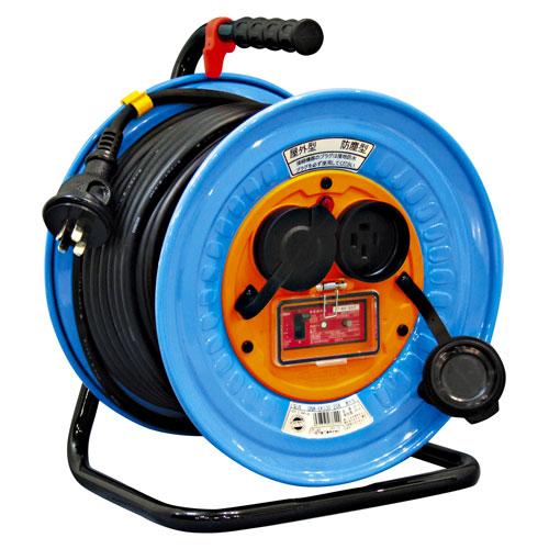 【送料無料】日動工業 防雨・防塵型三相200V動力用電工ドラム 20m DNW-EK320-20A【smtb-u】