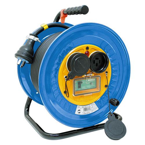 【送料無料】日動工業 防雨・防塵型三相200V動力用電工ドラム 30m DNW-EB330-20A