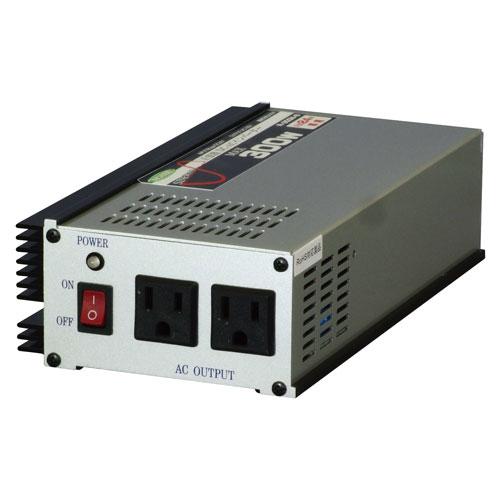 【送料無料】日動工業 正弦波インバーター DC24V-100V R-300N-B【smtb-u】