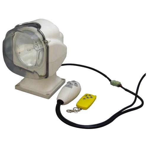 【送料無料】日動工業 リモコン式HIDムービングサーチライト HIDL-35R-24V