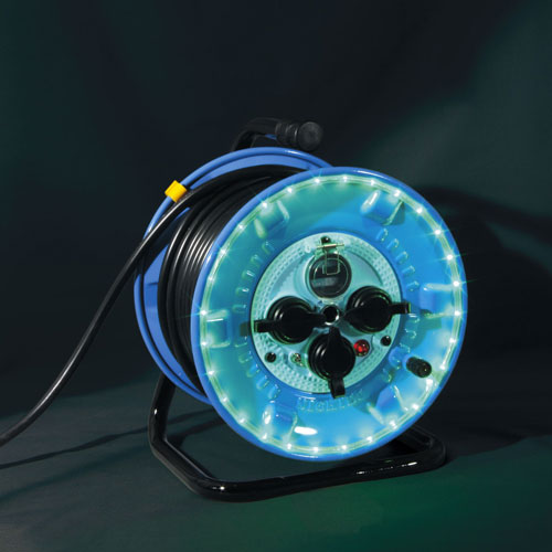 【送料無料】日動工業 防雨型LEDラインドラム緑 NPWL-EB33-G
