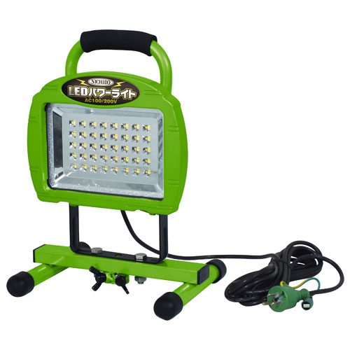 【送料無料】日動工業 LEDパワーライト20W 床スタンド型 LEN-20W-40PMS
