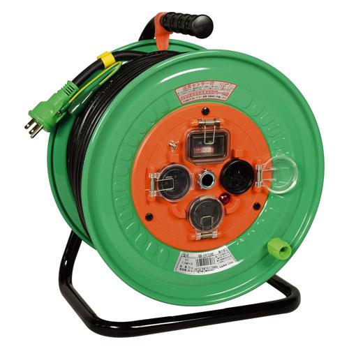 【送料無料】日動工業 防雨・防塵型ドラム リペアポッキンタイプ 30m NW-EK33RE