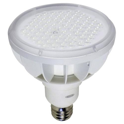 【送料無料】日動工業 ハイスペックエコビック50W 口金式 電球色 スポット 白 L50W-E39-SW-30K-N