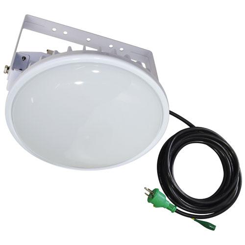 【送料無料】日動工業 ハイディスク200W 電源装置一体型 投光器型 昼白色 110度 L200W-D-HMW-50K