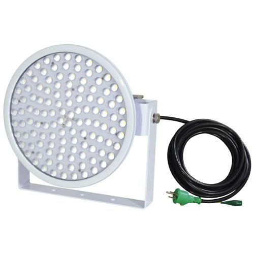 【送料無料】日動工業 ハイディスク100W 電源装置一体型 投光器型 昼白色 45度 L100W-D-HS-50K【smtb-u】