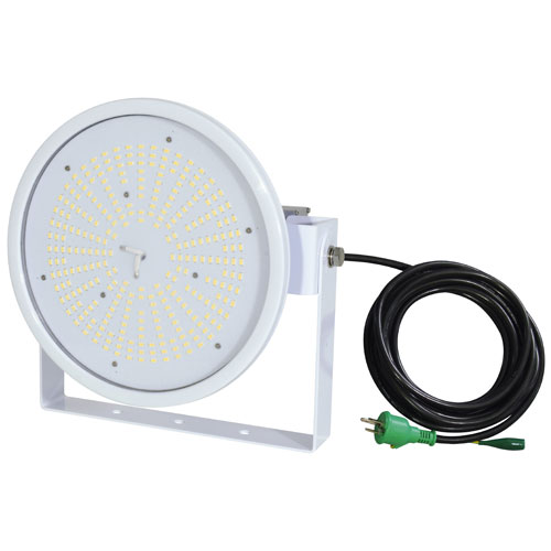 【送料無料】日動工業 ハイスペックハイディスク100W 投光器型 昼白色 110度 L100W-D-HW-50K-N