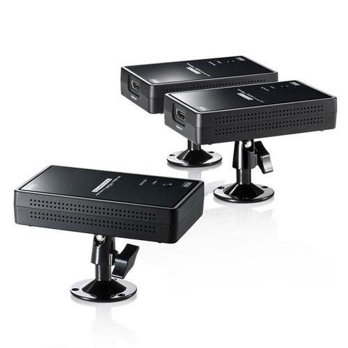 送料無料!&追加で何個買っても同梱0円! 【送料無料】サンワサプライ ワイヤレス分配HDMIエクステンダー 2分配 VGA-EXWHD7