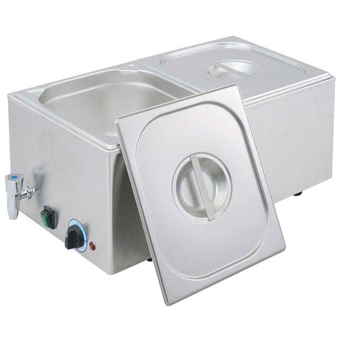 【送料無料】EBM 電気式フードウォーマー 湯煎式 YFK-2(1/2×2) 3790100【smtb-u】