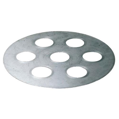 【送料無料】セイロ用台皿 7穴 φ580 6014000