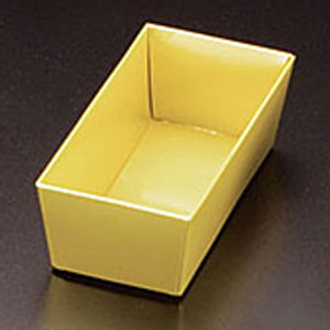 ヤマコー 重箱用 金色紙中子 6.5寸用 4.5割(G4.5) 23487