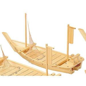 【送料無料】ヤマコー 白木料理舟 網付 M-105 41201