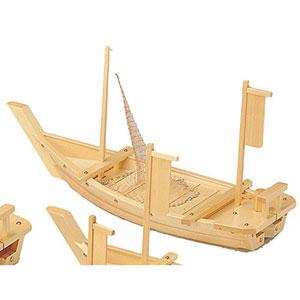 【送料無料】ヤマコー 白木料理舟 網付 M-80 41203