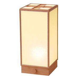【送料無料】ヤマコー 室内行灯 角 調光スイッチ付 50681