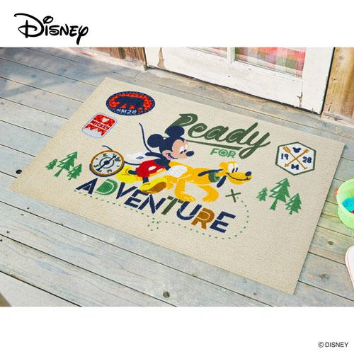 【送料無料】【メーカー直送】クリーンテックス・ジャパン Disney Mat Collection ディズニー 玄関マット Mickey ミッキー アドベンチャー 75 × 120 cm BK00047【smtb-u】