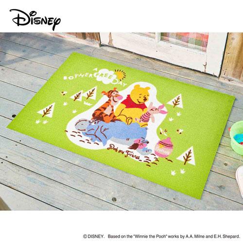 【送料無料】【メーカー直送】クリーンテックス・ジャパン Disney Mat Collection ディズニー 玄関マット Pooh プー&フレンズ 75 × 120 cm BK00048【smtb-u】