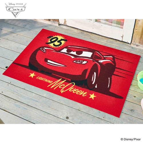 【送料無料】【メーカー直送】クリーンテックス・ジャパン Disney Mat Collection ディズニー 玄関マット Cars カーズ マックイーン 75 × 120 cm BK00050【smtb-u】
