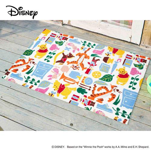 【送料無料】【メーカー直送】クリーンテックス・ジャパン Disney Mat Collection ディズニー 玄関マット Pooh くまのプーさんと仲間達 75 × 120 cm BK00062【smtb-u】