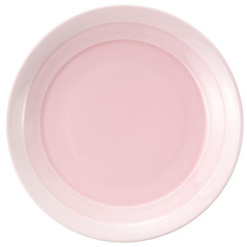 【クーポンで30%値引き】【送料無料】翠 ラウンドプレート 28cm ピンク MJ118-457PK 2枚セット