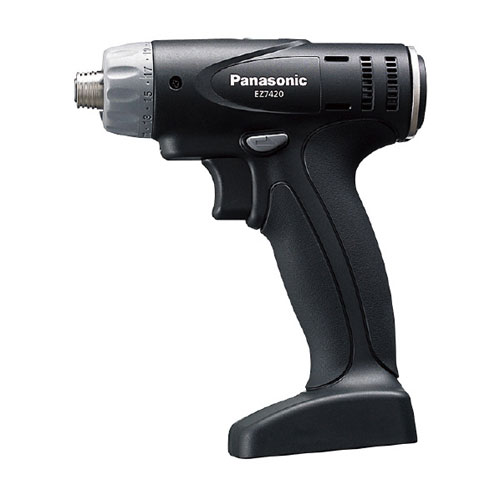 【送料無料】パナソニック PANASONIC リチウム充電ドリルドライバー 黒 本体 EZ7420X-B