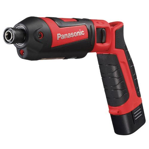 【送料無料】パナソニック PANASONIC 7.2V充電スティックインパクト 赤 EZ7521LA2S-R