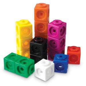 3980円 特売 税込 以上で送料無料 追加で何個買っても同梱0円 Learning Resources MathLink 100個入り Cubes 代引き不可 LER R 算数キューブ 4285