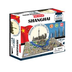 【送料無料】4D Cityscape Time Puzzle 4D シティスケープ タイムパズル 上海 40040