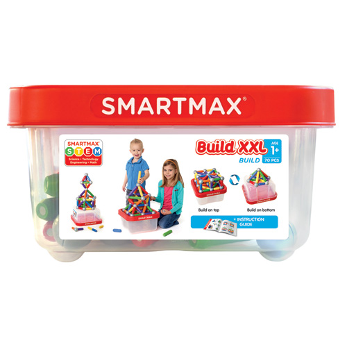 【送料無料】SMART MAX スマートマックス ビルド ケース入りラージセット 70ピース SMX 907