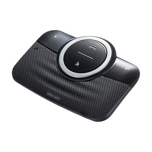 送料無料 追加で何個買っても同梱0円 サンワサプライ 送料込 Bluetoothハンズフリーカーキット 全国一律送料無料 MM-BTCAR3