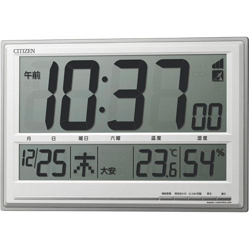 【送料無料】シチズン 掛置兼用電波時計 8RZ199-019 ZTK6301【smtb-u】