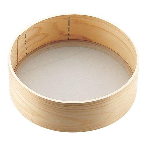 送料無料 大注目 追加で何個買っても同梱0円 木枠 粉フルイ 8寸 細目 40メッシュ BKN1901 まとめ買い特価