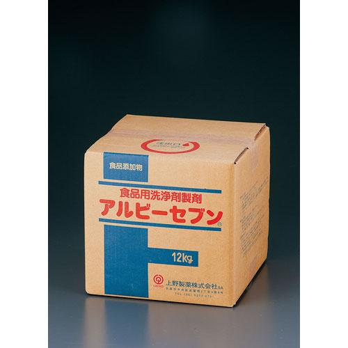 【送料無料】ウエノフードテクノ 食品添加物食品用洗剤アルビーセブン 12kg JSVE601