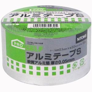 【送料無料】【メーカー直送】ニトムズ 日東 プロセルフ アルミテープS 50mm×10m J3230 50巻入