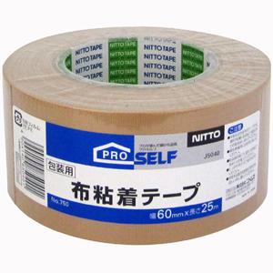 【送料無料】【メーカー直送】ニトムズ 布粘着テープ No.750 60mm×25M J5040 30巻入