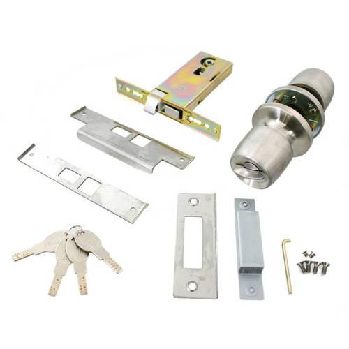 【送料無料】日中製作所 SEPA 取替錠 ディンプル 4本キー CW-123D