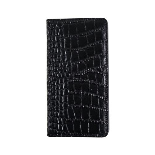 【送料無料】GAZE ゲイズ iPhone 6.1/iPhone XR Vivid Croco Diary ブラック GZ13495i61▽▼